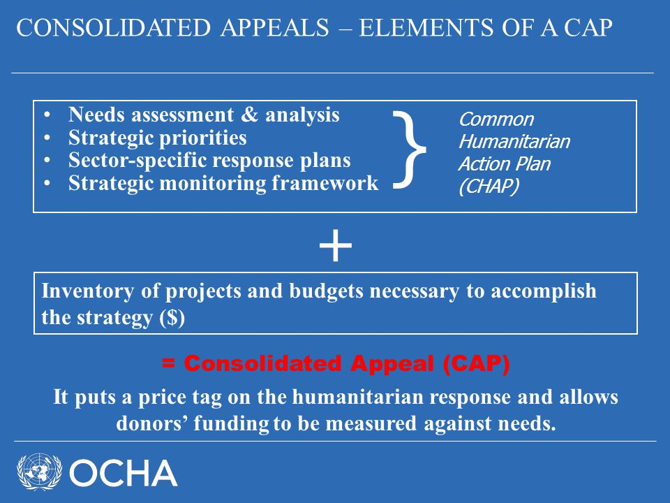 = Consolidated Appeal (CAP)