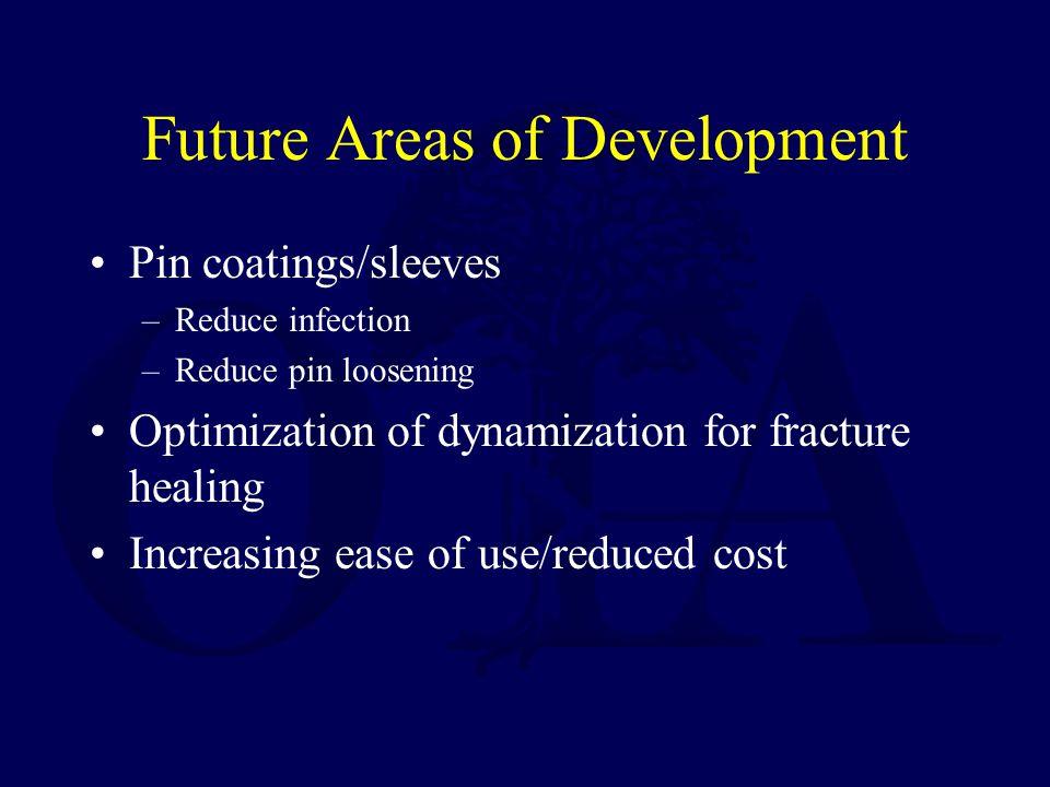 Future Areas of Development