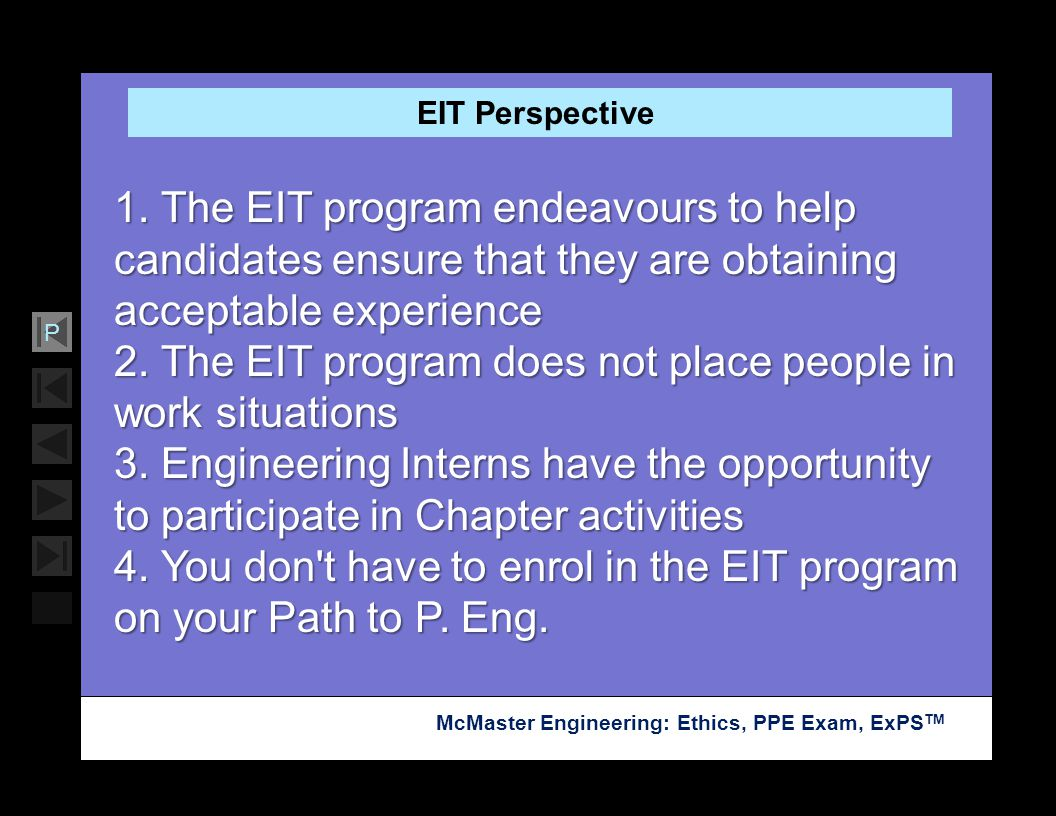 2. The EIT program does not place people in work situations