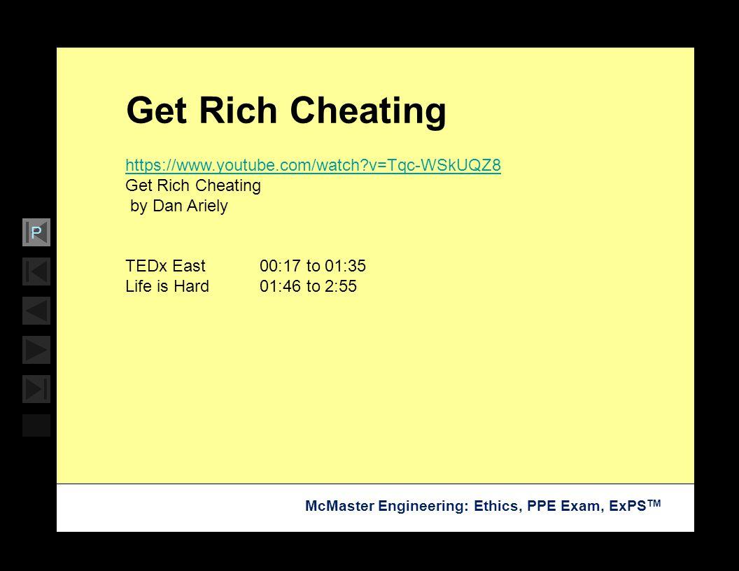 Get Rich Cheating https://www.youtube.com/watch v=Tqc-WSkUQZ8