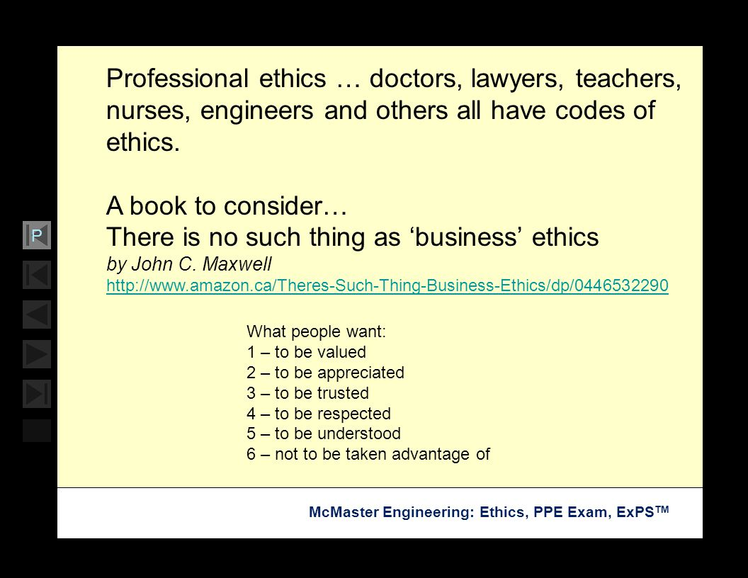 There is no such thing as 'business' ethics