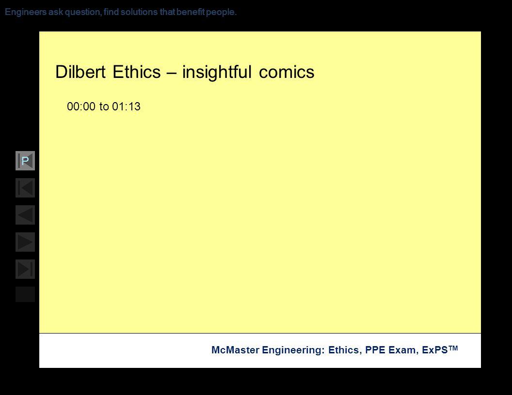 Dilbert Ethics – insightful comics