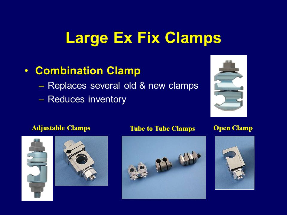 Large Ex Fix Clamps Combination Clamp