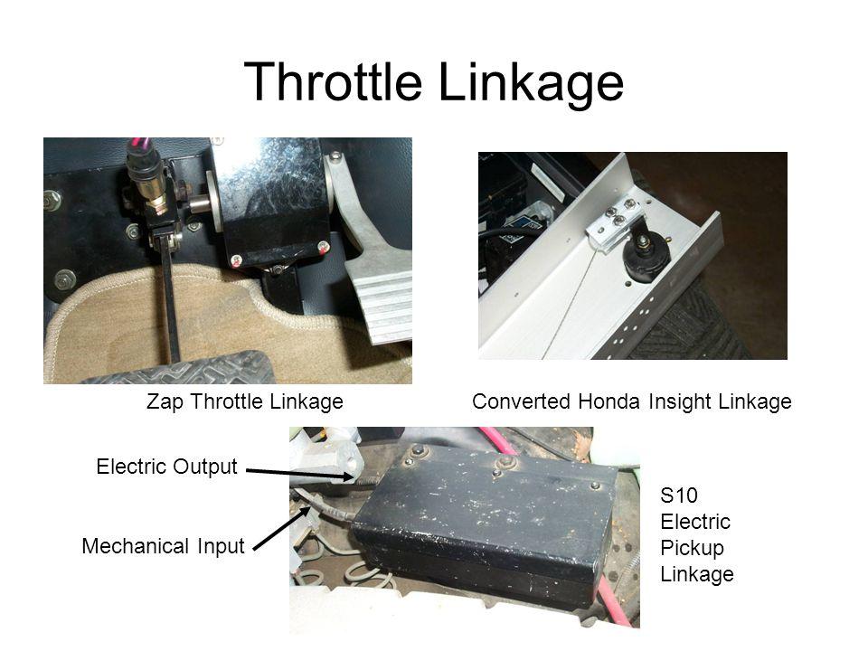 Throttle Linkage Zap Throttle Linkage Converted Honda Insight Linkage