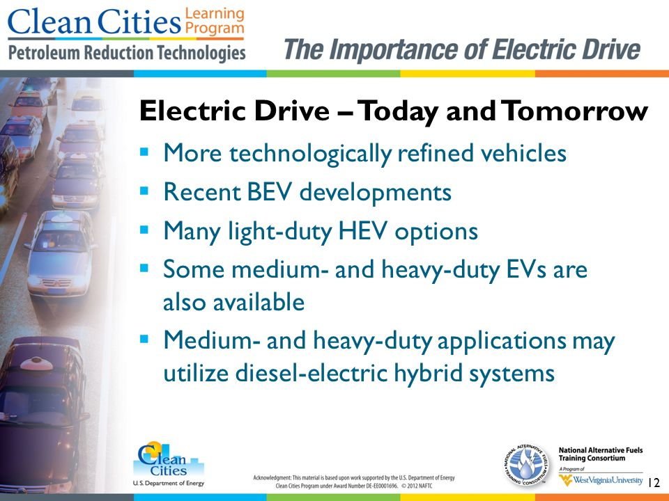 Electric Drive – Today and Tomorrow