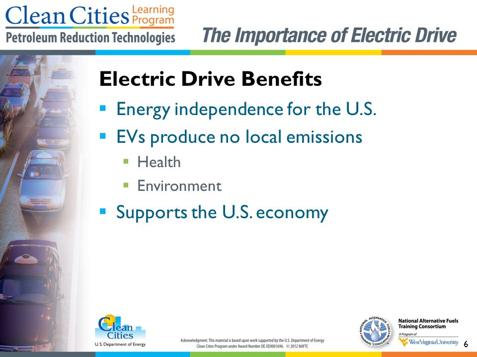Electric Drive Benefits