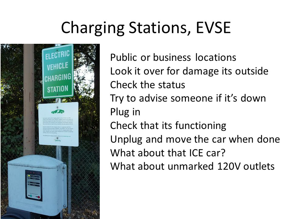 Charging Stations, EVSE