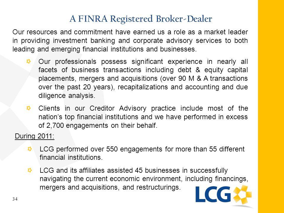 A FINRA Registered Broker-Dealer
