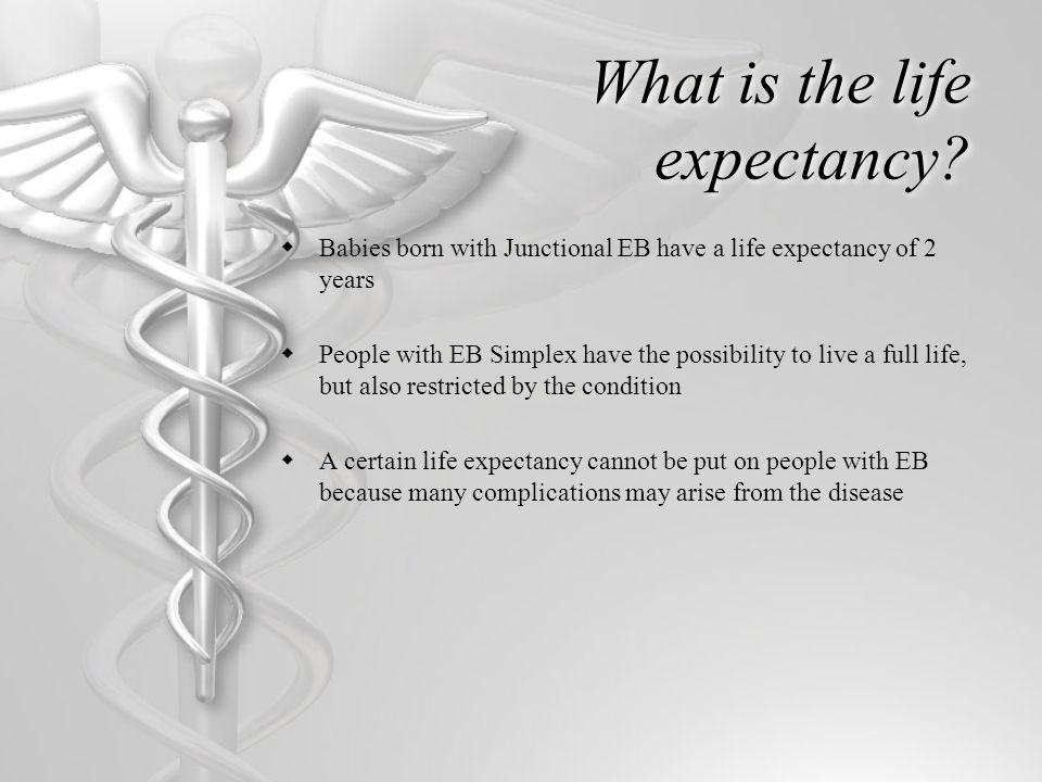 What is the life expectancy