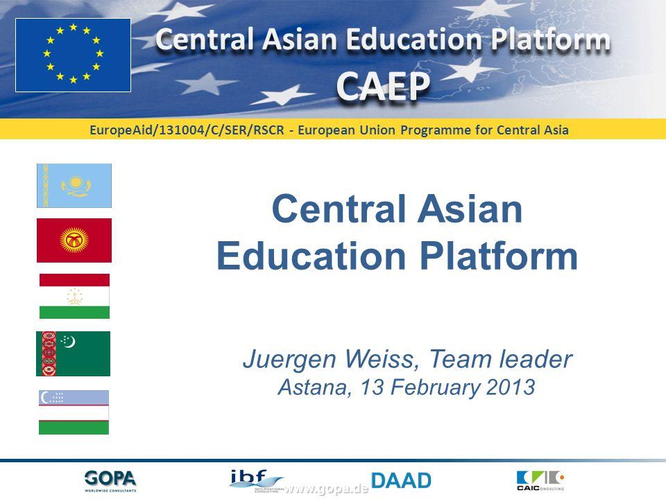 Central Asian Education Platform