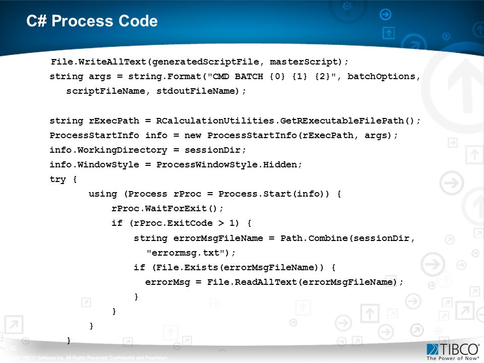 C# Process Code File.WriteAllText(generatedScriptFile, masterScript);