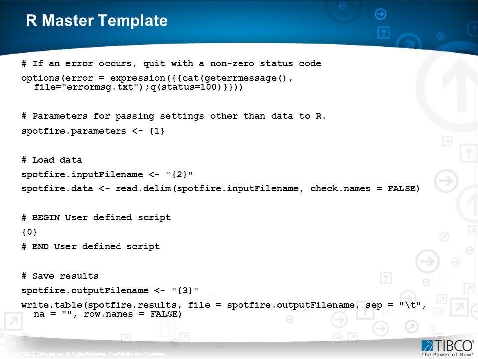 R Master Template # If an error occurs, quit with a non-zero status code.