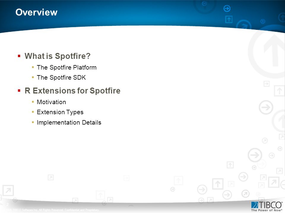 Overview What is Spotfire R Extensions for Spotfire