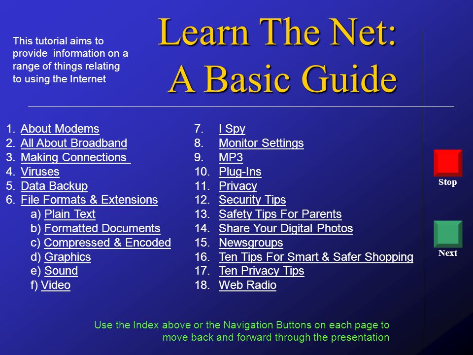 Learn The Net: A Basic Guide About Modems All About Broadband