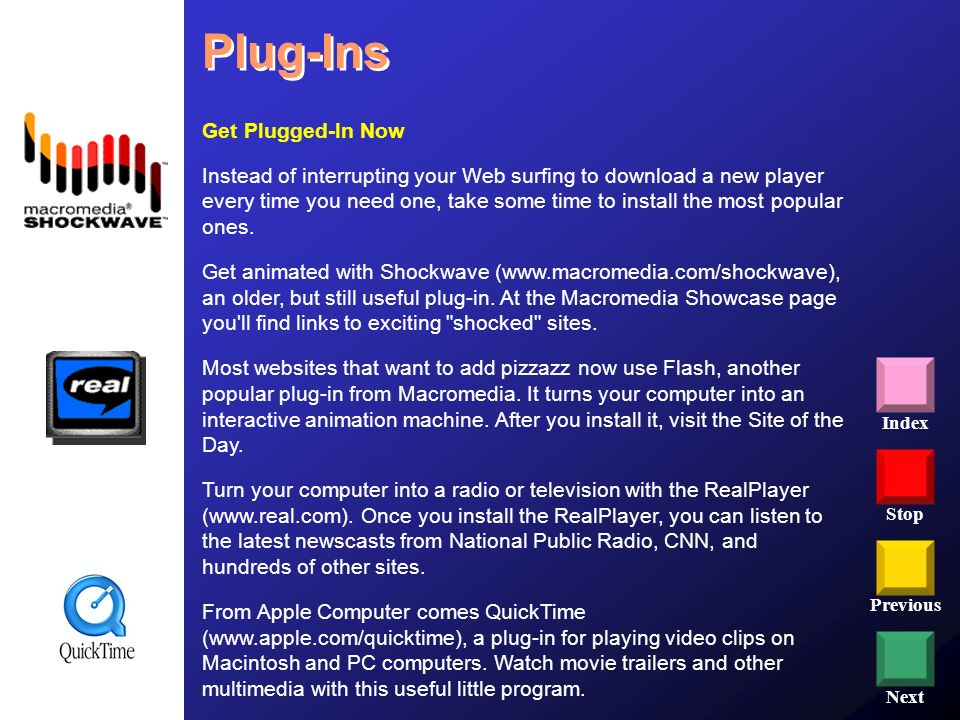 Plug-Ins Get Plugged-In Now