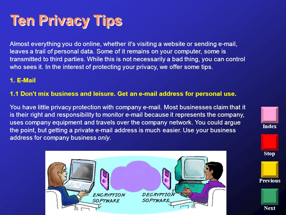 Ten Privacy Tips