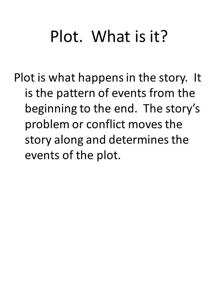 Plot. What is it