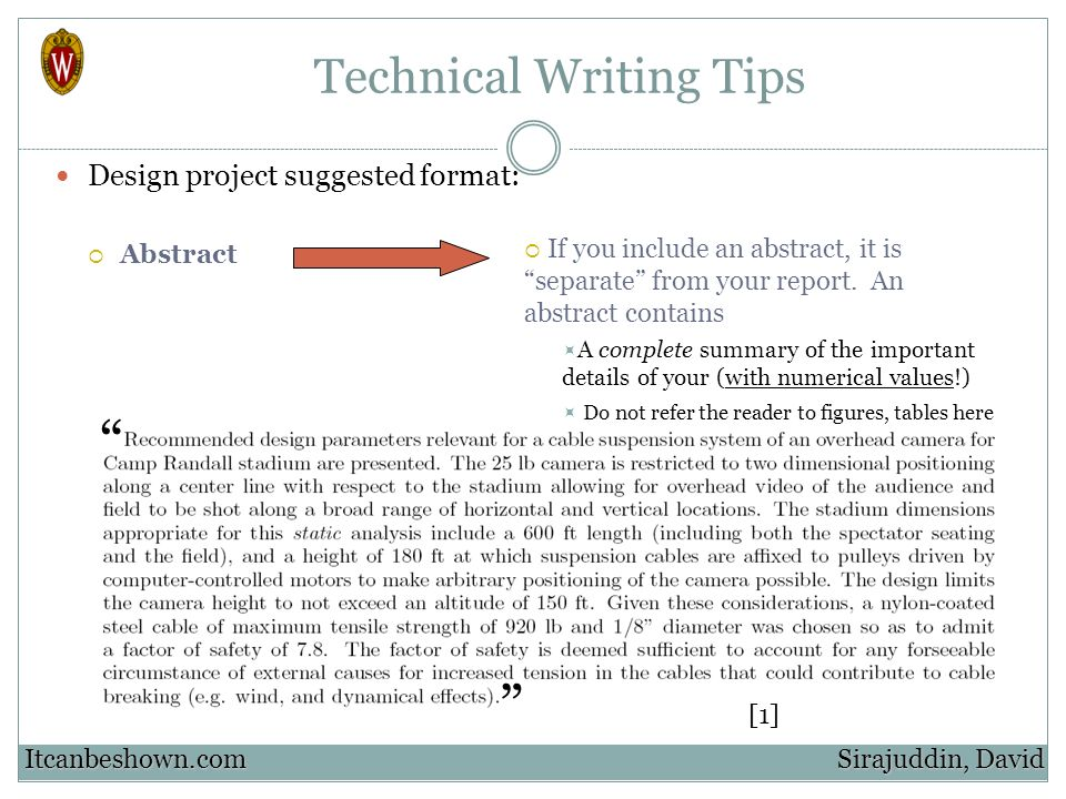 report writing techniques Collection of tips on how to improve your academic writing and other formal writing tips for academic writing and other formal paper or report is.