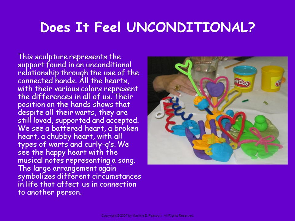 Does It Feel UNCONDITIONAL