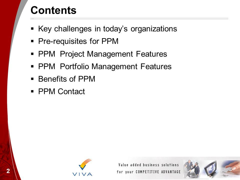 Contents Key challenges in today's organizations