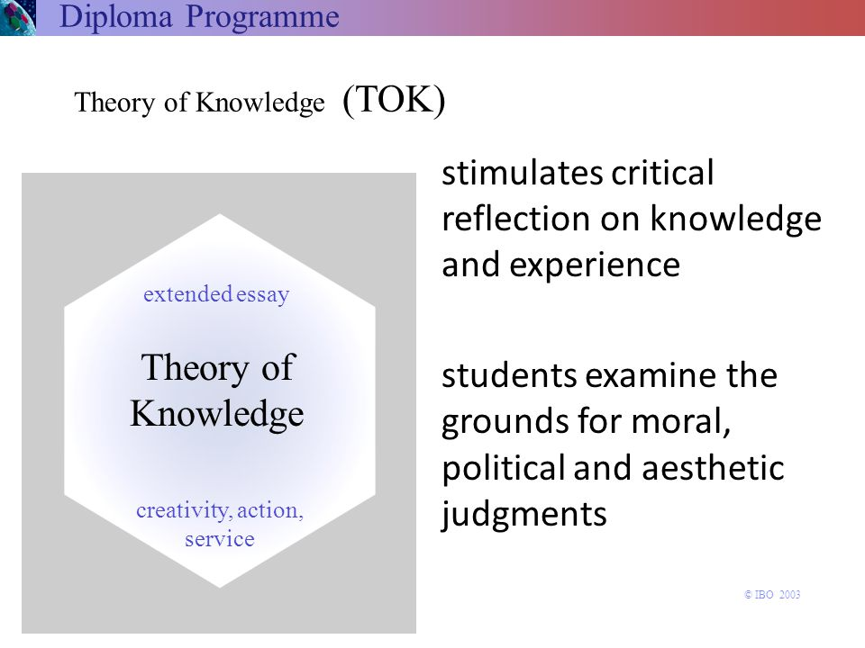 stimulates critical reflection on knowledge and experience