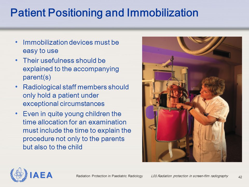 Patient Positioning and Immobilization