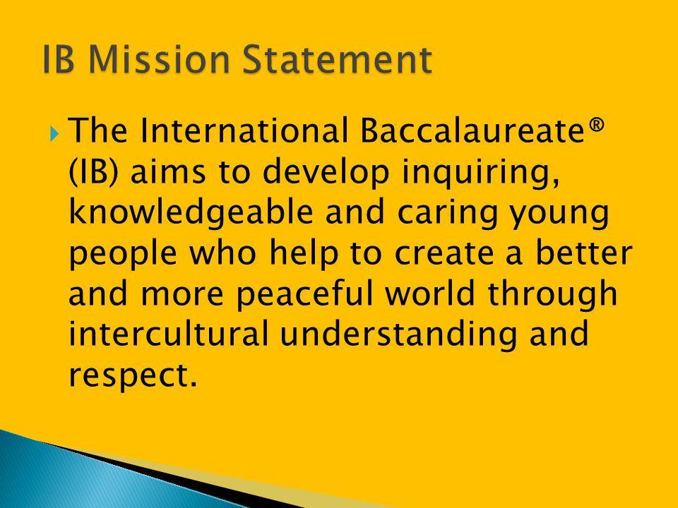 IB Mission Statement