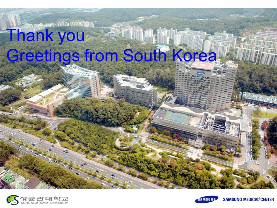 Thank you Greetings from South Korea