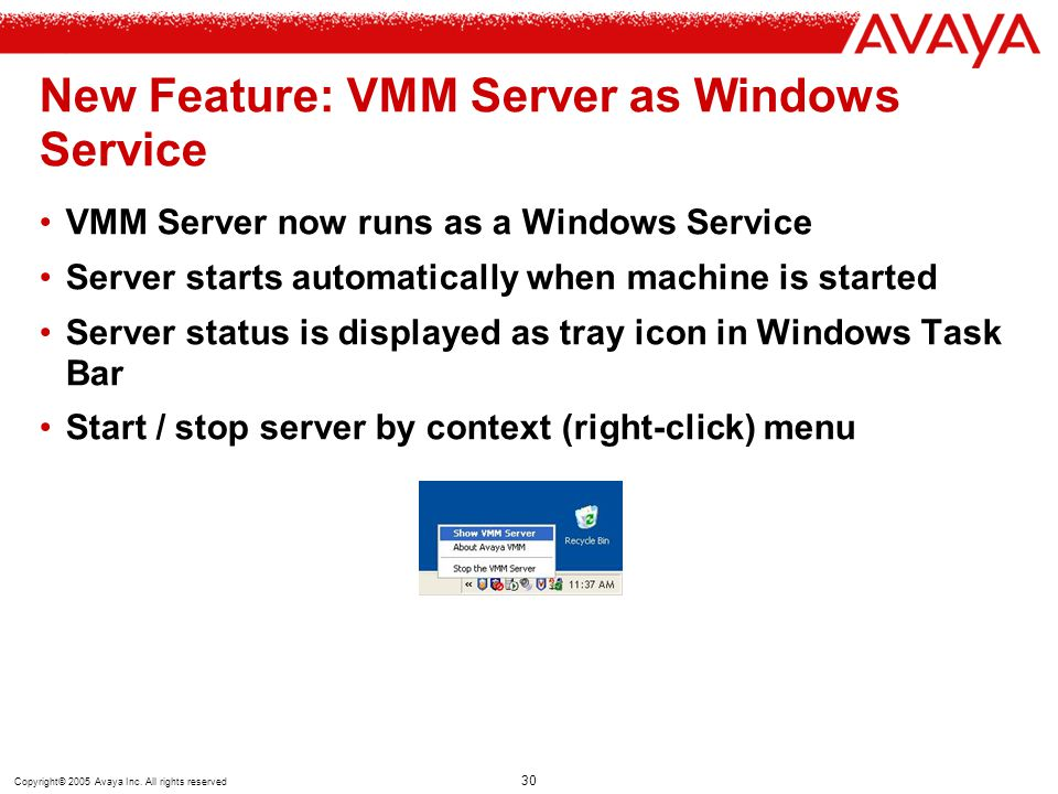 New Feature: VMM Server as Windows Service