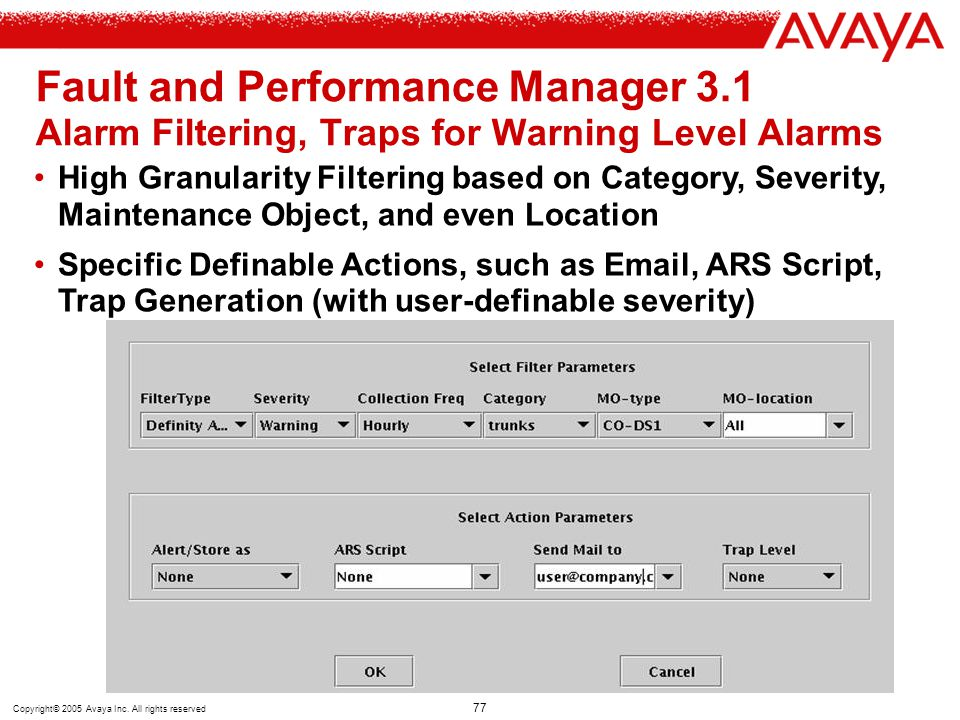 Fault and Performance Manager 3