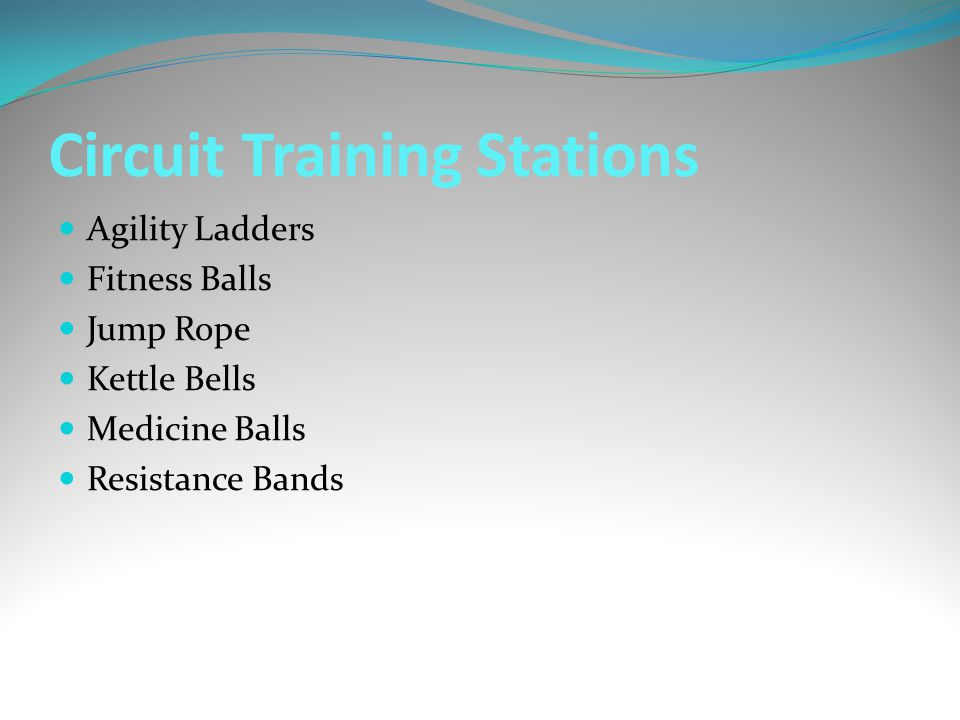 Circuit Training Stations