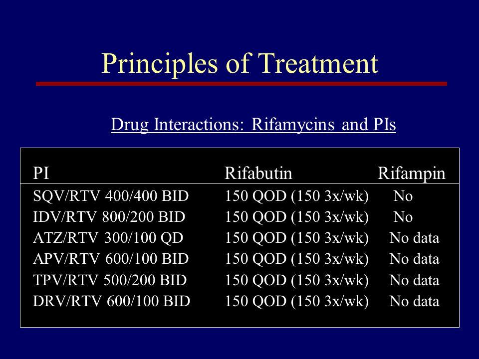 Principles of Treatment