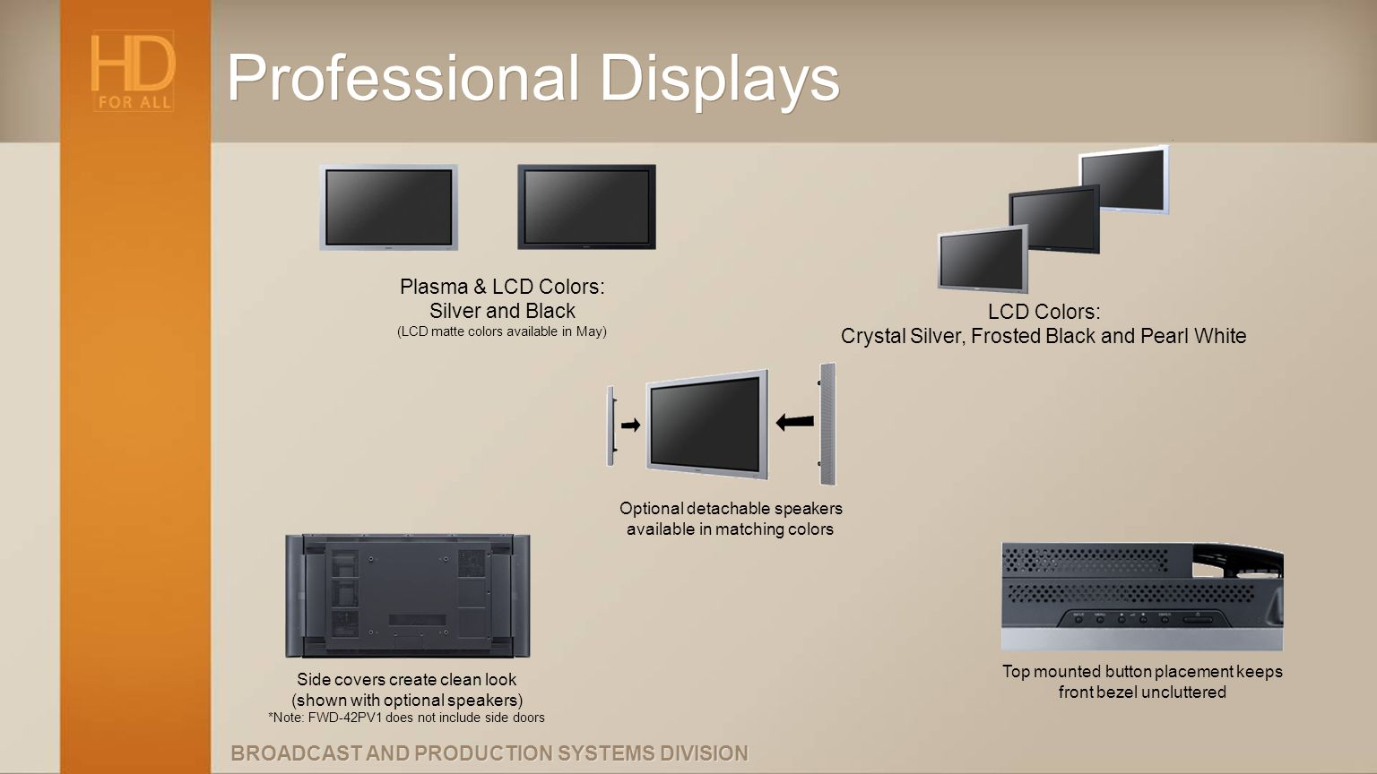 Professional Displays