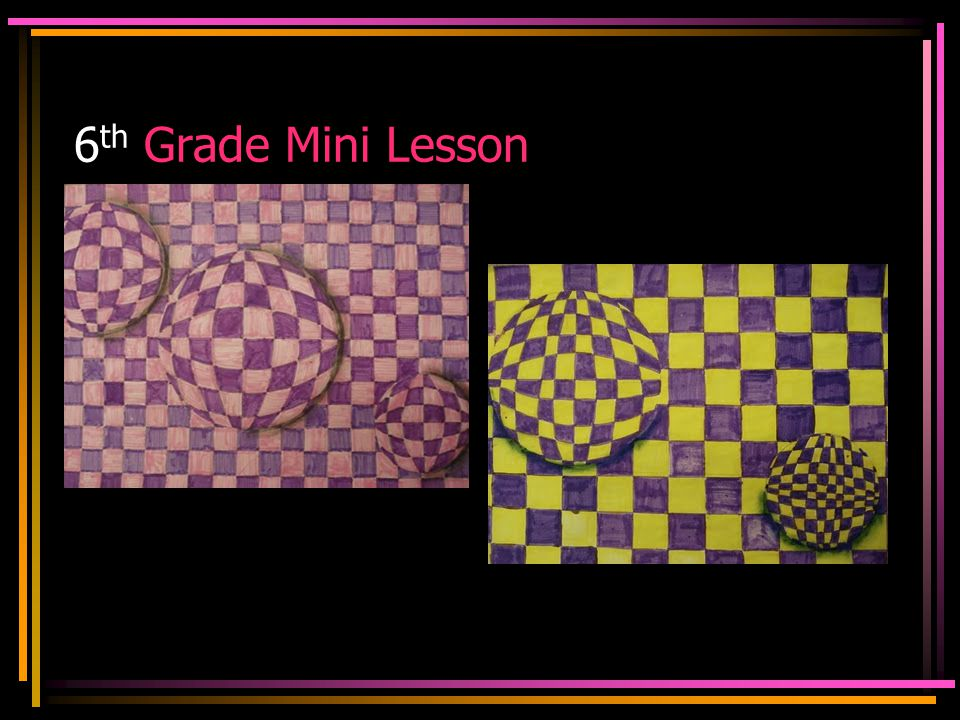 6th Grade Mini Lesson