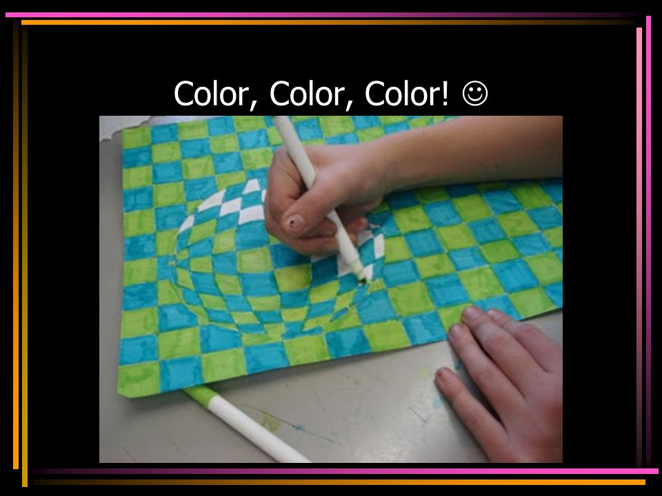 Color, Color, Color! 