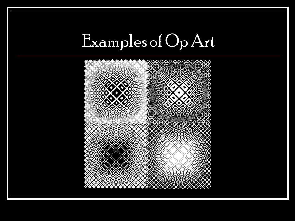 Examples of Op Art
