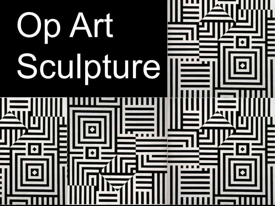Op Art Sculpture