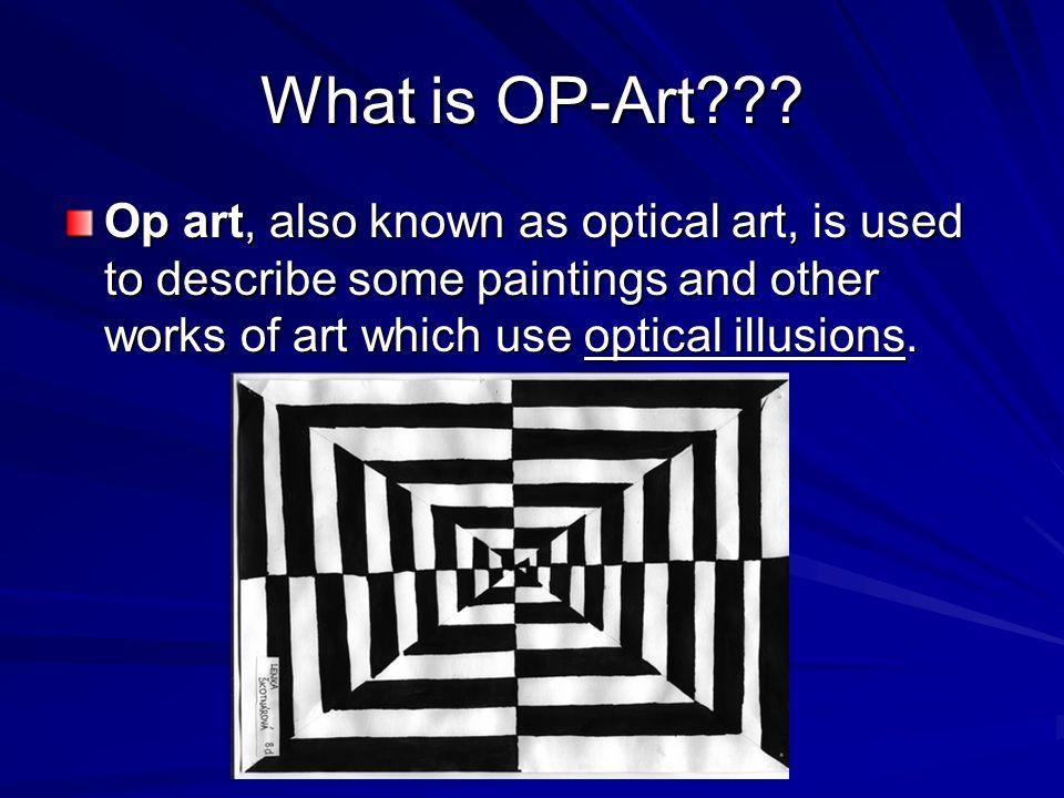 What is OP-Art .