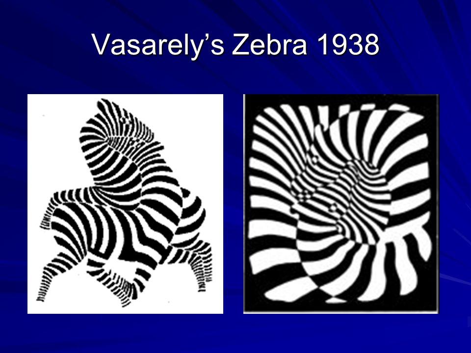 Vasarely's Zebra 1938