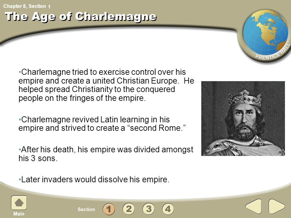 1 The Age of Charlemagne.