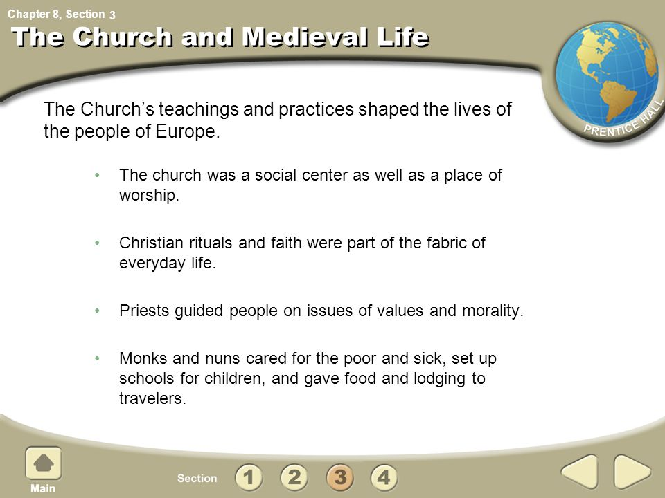 The Church and Medieval Life