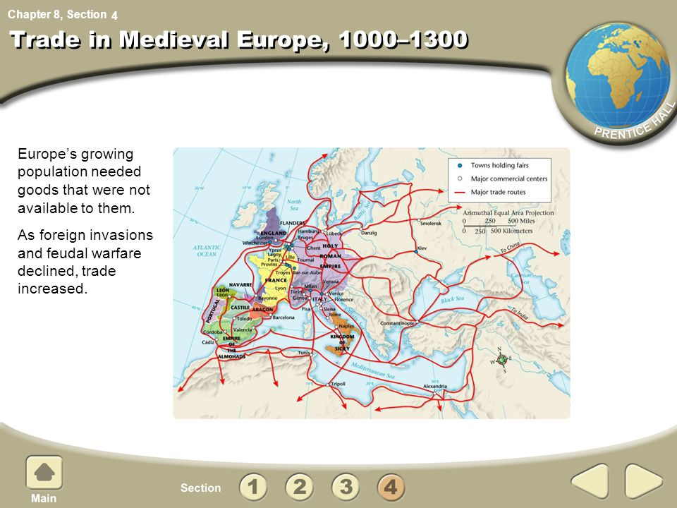 Trade in Medieval Europe, 1000–1300