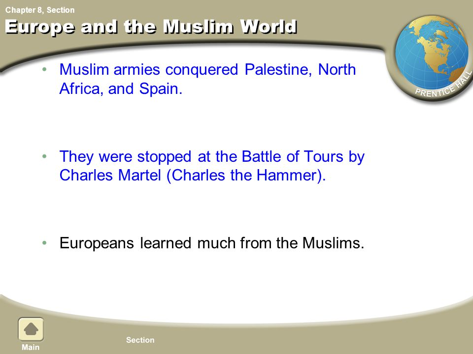 Europe and the Muslim World