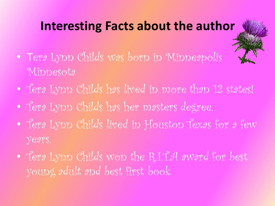 Interesting Facts about the author
