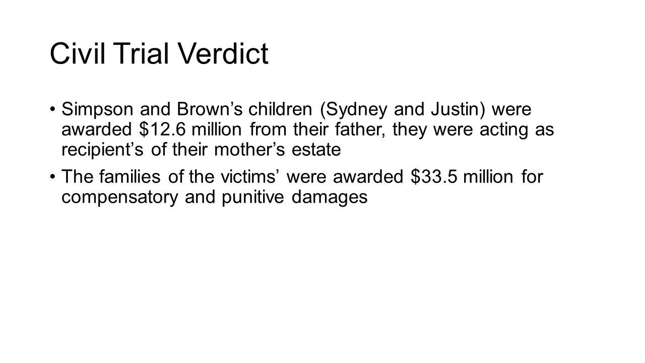 Civil Trial Verdict