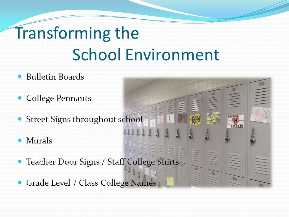 Transforming the School Environment