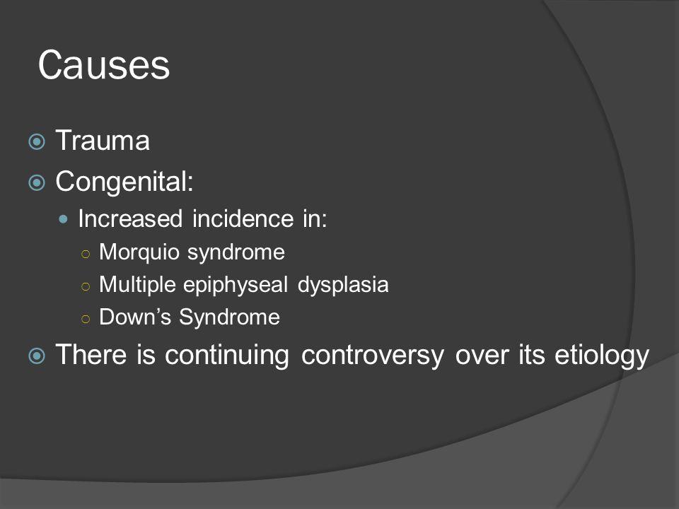 Causes Trauma Congenital:
