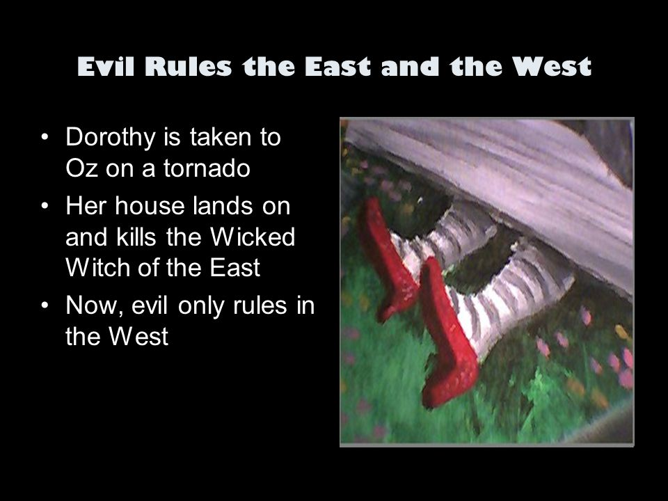 Evil Rules the East and the West