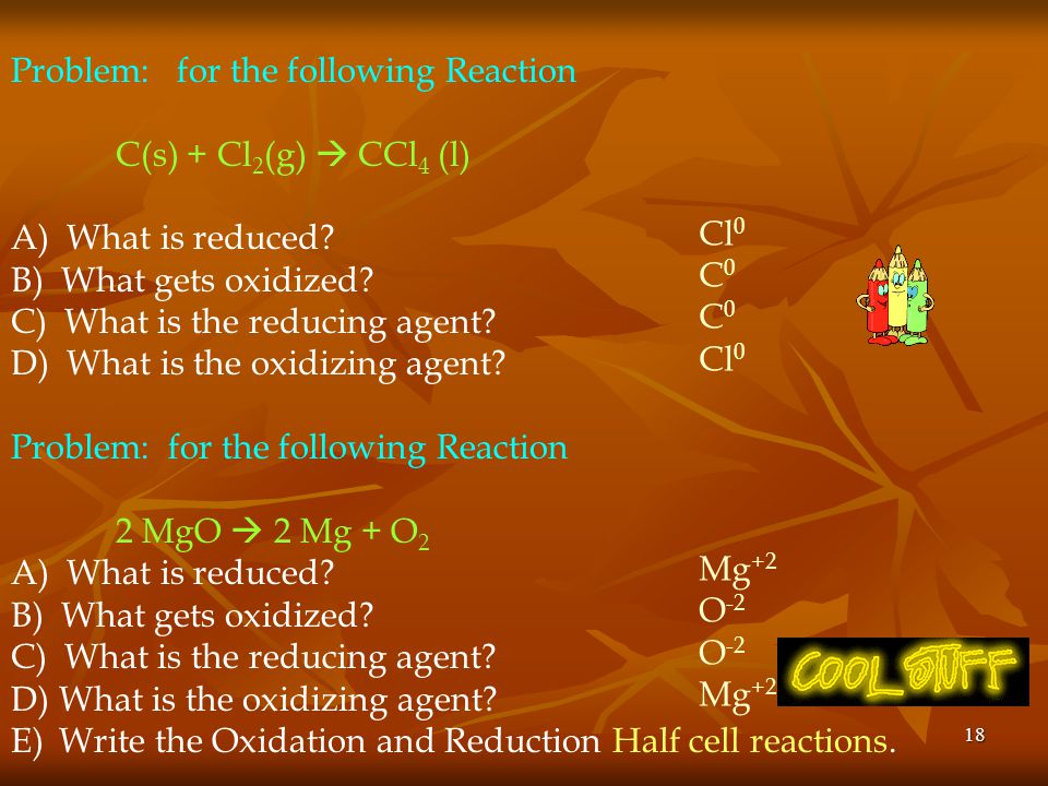 Problem: for the following Reaction