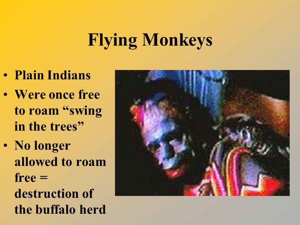 Flying Monkeys Plain Indians